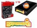 5TB Hyperspin Hard Drive EXTERNAL with Microsoft Xbox 360 Wireless Controller & Receiver
